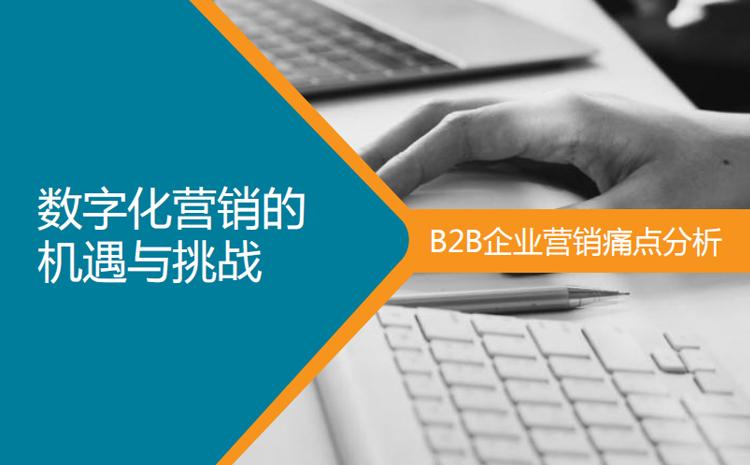 B2B企业痛点分析